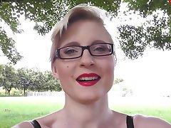 Big Boobs, Blonde, German, Outdoor