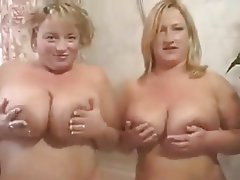 Big Boobs, Blonde, British, Lesbian, MILF