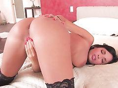 Babe, Big Ass, Big Tits, Masturbation, Panties