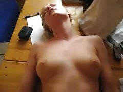 Amateur, Blonde, Close Up, Orgasm, POV