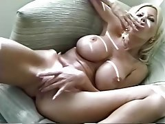Big Boobs, Blonde, Masturbation, Mature
