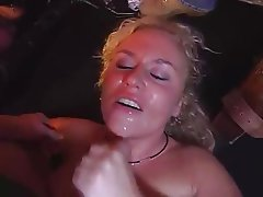 Blonde, Gangbang, German, Group Sex, Swinger