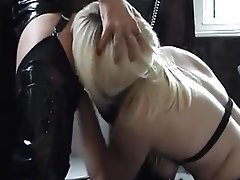 Amateur, British, Lesbian, Stockings