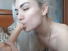Babe, Blonde, Masturbation, Webcam