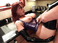 Hardcore, High Heels, Latex, Redhead