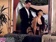 Babe, Brunette, Hardcore, Pornstar, Stockings