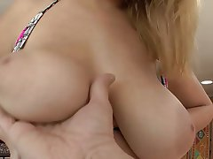Babe, Big Boobs, Blonde, Blowjob