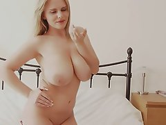 Big Boobs, Big Butts, Blonde, Lingerie