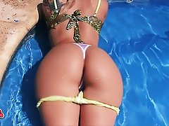 Big Boobs, Big Butts, Blonde, Outdoor