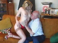 Blonde, Cumshot, Hardcore, Old and Young