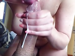 Blowjob, Cum in mouth, Cumshot, Handjob