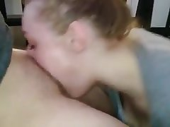 Blonde, Blowjob, Cum in mouth
