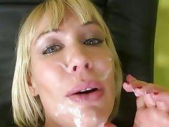 Blonde, Blowjob, Cumshot, Facial