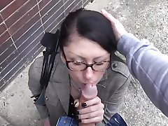 Brunette, Hardcore, MILF, Old and Young, Outdoor