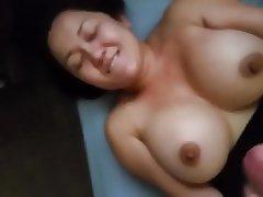 Asian, Big Boobs, Cumshot