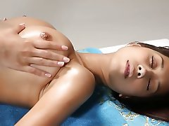 Babe, Massage, Pornstar