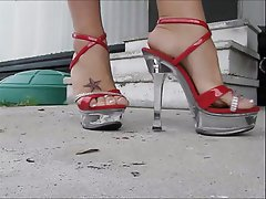 Femdom, Foot Fetish, High Heels