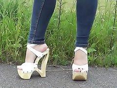 Amateur, Foot Fetish, Brazil, High Heels