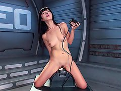 Machine Fucking, Solo, Toys, Masturbation
