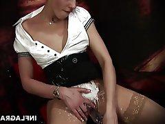 Masturbation, MILF, German, Orgasm, Wife