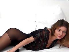 Webcam, Lingerie, High Heels, Pantyhose