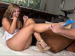 Babe, Blonde, Blowjob, Cute