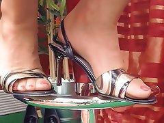 German, Foot Fetish, Close Up, POV