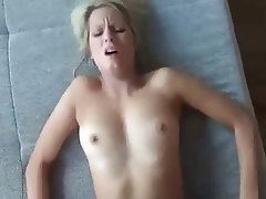 Blonde, Blowjob, Cumshot, Hardcore