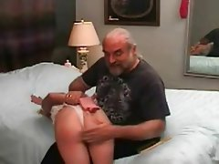 BDSM, Blonde, Spanking