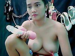 Asian, Big Boobs, Nipples