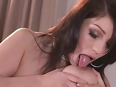 Big Boobs, Brunette, Masturbation, Nipples