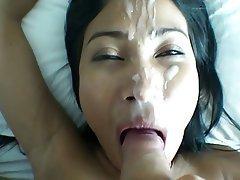 Asian, Cumshot, Facial, Thai