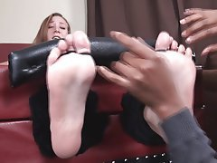 Close Up, Foot Fetish, POV