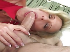 Big Butts, Blonde, Blowjob, Facial, MILF
