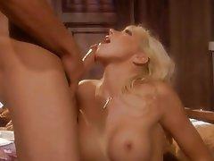 Blonde, Blowjob, Cumshot, Nipples
