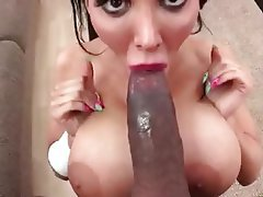 Big Boobs, Blowjob, Interracial, Pornstar