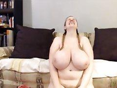 Big Boobs, Blonde, Close Up, Webcam