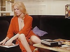 Blonde, Masturbation, Pornstar, Vintage