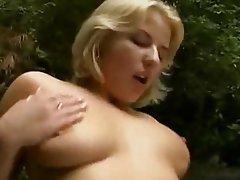 Blonde, German, Hardcore, Outdoor
