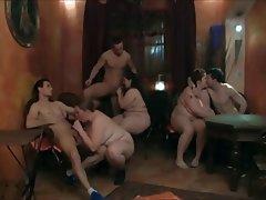 BBW, Big Boobs, Big Butts, Czech, Group Sex