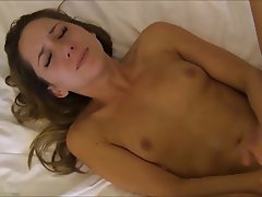 Brunette, Cumshot, Facial, French